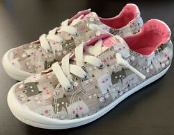 Skechers Bobs for Dogs Gray Pink Womens 6 Brand New $25.00