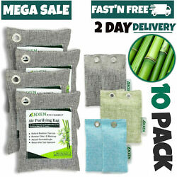 Air Purifying Bag Purifier Nature Fresh Charcoal Bamboo Mold Freshener 5 Bags $15.99