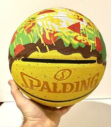 Spalding Basketball Street Taco Supreme Ball Limited Edition Taco Tuesday $50.00