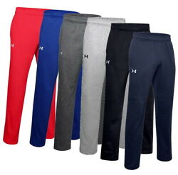 Under Armour Men#x27;s UA Rival Fleece 2.0 Team Pants Sweatpants 1300124 New 2020 $35.95