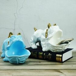 Resin Big Mouth Dog Storage Figurines For Interior Home Decoration Accessories $91.00