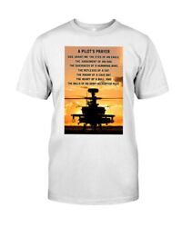 Army Helicopter A Pilot#x27;S Prayer God Grant Me The Eyes Of An Eagle T shirt Bi... $15.15