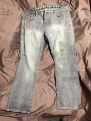 Converse One Star Mens Jeans grey size 34X32 Pre Worn $26.99