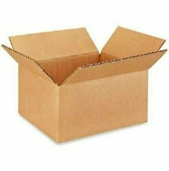 100 8x6x4 Cardboard Paper Boxes Mailing Packing Shipping Box Corrugated Carton $32.78