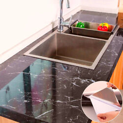 Marble Contact Paper Self Adhesive Peel amp; Stick Wallpaper PVC Kitchen Countertop $9.89