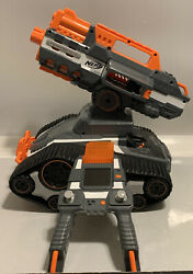 TerraScout Recon Nerf Toy RC Drone N Strike Elite Blaster w Live Video Untested $150.00