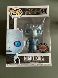 Funko Pop Game Of Thrones: Metallic Night King #44 Special Edition GBP 11.50