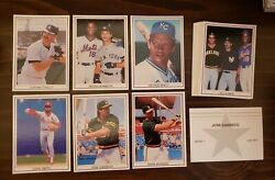 1988 Broder Gray Star White Border Series 1 Set 25 Cards Jose Canseco Mattingly $7.49