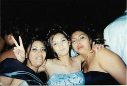 PARTY GIRLS Latinas FOUND PHOTO Color YOUNG WOMEN Snapshot VINTAGE 11 2 F $9.80