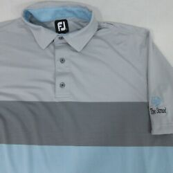 FJ FootJoy golf polo 46xL31quot; shirt Large $18.05