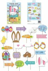 Unisex Easter Egg Hunt Props with Stick Photo Booth Fancy Party Dress Accessory $19.99