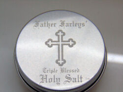 FATHER FARLEYS TRIPLE BLESSED HOLY SALT 1OZ . FREE SHIPPING LQQK NOW $19.95