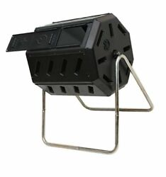 FCMP Outdoor IM4000 37 Gal. Dual Chamber Tumbling Composter Black $116.99