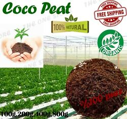 COCO COIR COCO PEAT ORGANIC NATURAL COMPOST HYDROPONIC SUBSTRATE GROWING MEDIA $5.95