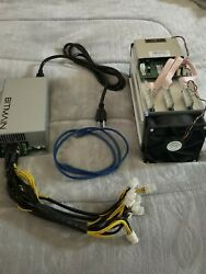 Bitmain antminer s9 bitcoin miner. 13.5 TH s ASIC miner. With APW3 psu $300.00