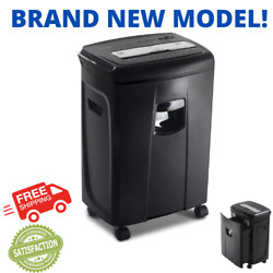 Industrial Heavy Duty Document Shredder Crosscut Paper Credit Card Commercial $9.97