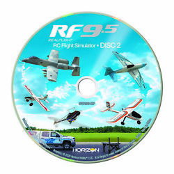 RealFlight 9.5 RC Airplane Helicopter Flight Simulator Software Only RFL1201 $99.99