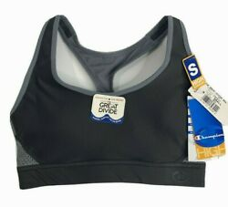 Champion Sports Bra Size Small The Great Divide Black Athletic Womens Support $11.99
