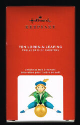 HALLMARK KEEPSAKE 2020 12 DAYS OF CHRISTMAS #10 TEN LORDS A LEAPING QXR9314 $15.99