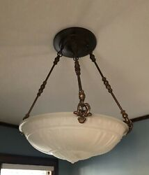 Rejuvenation Vintage Ceiling Chandelier Neoclassical Style $225.00
