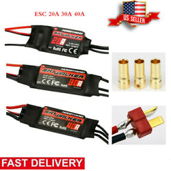 20 40A Brushless Speed Controller ESC BEC for RC Airplane Quadcopter Helicopter $12.96