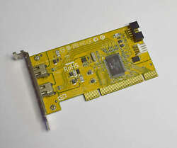 HP Low Profile FireWire PCI Card 1394 441448–001 2 Ports Free Shipping $7.99