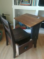 school desk chair antique for kids $175.00