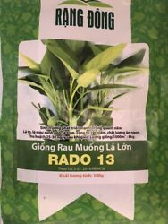 Rau Muong La To big Leave Ong Choy water Spinach 2000seed 100 Gram $15.25
