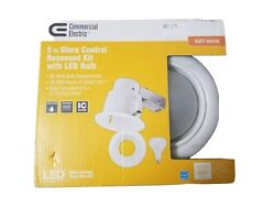 Commercial Electric 5 in Glare Control Recessed Kit with LED Bulb