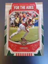 2019 Panini Legacy For The Ages Green Tyreek Hill 100 100 $4.99