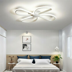 Modern Metal Windmill Shape Ceiling Lamp LED Semi Flush Mount Lighting Fixture $129.00