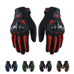 Motorcycle Touch Screen Gloves Outdoor Motocross Mountain Dirt Cycling Gloves $13.69