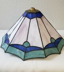 Tiffany Style Stained glass table lamp shade $35.00