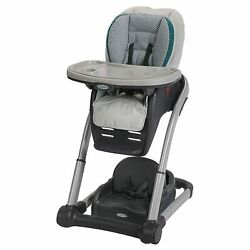 Graco Blossom 6 in 1 Convertible High Chair Sapphire Brand New $123.99