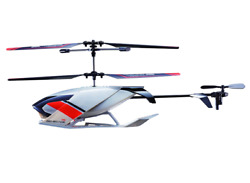 Sky Rover Renegade 40cm Helicopter with 6 Way Control and 3 Channels Blue amp; Gray $24.99