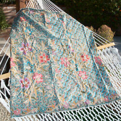 Thai wrap skirt for Men amp; Women Turquoise Print $20.00