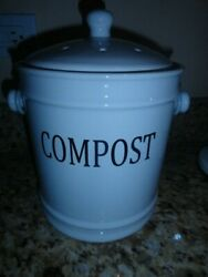 Crofton Countertop Compost Bin 1 Gallon Capacity FREE SHIPPING $34.99