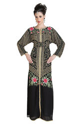 Jasmine Designer Jellabiya Long Sleeve Maxi For Cocktail Party Wear Gown 6662 $181.99