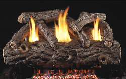 Real Fyre Forest Oak 24quot; Vent Free Gas Log Natural Gas Remote $699.99