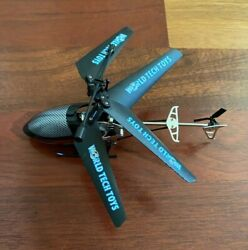 Saturn X World Tech Toys Mini Remote Control Helicopter For Parts You Fix it $19.99