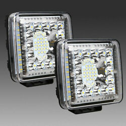 2PCS 4 Inch LED Light Bar Pods Combo Cube for Driving Off Road Truck Parts Lamps $34.09
