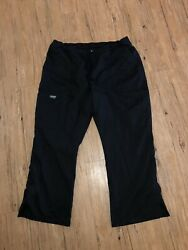 cherokee workwear pants black petite XL looks new super excellent condition $15.99