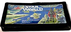 Retro 1970s 3.75quot; Action Figure Star World Case holds 12 Wars figures d801 $29.99