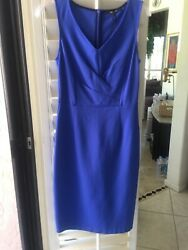 Kobi Helperin Blue Dress Size 4