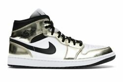Nike Air Jordan 1 Mid Gold Size 9 DEADSTOCK BRAND NEW SHIPS IMMEDIATELY $170.00