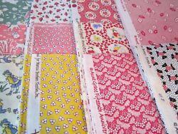 F1219 Aunt Grace Reproduction15th Anniversary choice of fat quarters OOP $5.50