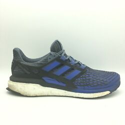 Adidas Energy Boost Blue Black Steel Running Shoes Men#x27;s Size 12 CP9539 $27.60
