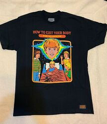 HOW TO EXI YOUR BODY T Shirts Graphic Steven Rhodes $19.99