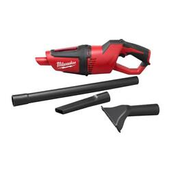 Milwaukee 0850 20 M12 18.5quot; Cordless Compact Vacuum Reusable Filter Tool Only $66.95