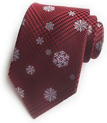 Elfeves Mens Big Boys Novelty Fun Merry Christmas Tie Patterned Fancy Neckties $29.98